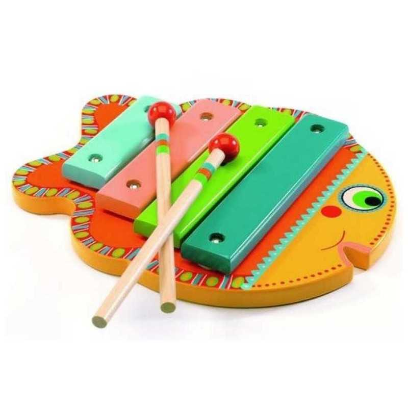 Wooden xylophone animambo fish dj6001 musical instrument for Wooden fish instrument