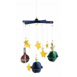 IL PICCOLO PRINCIPE pianeti THE PLANET MOBILE età 6+ HAPE the little prince KIT