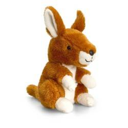 PELUCHE CANGURO 14 cm Pippins Keel Toys CLASSICO pupazzo bambola kangaroo