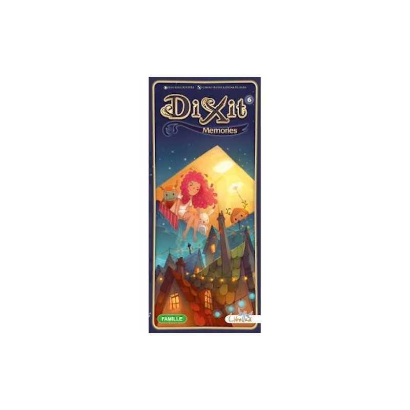 DIXIT MEMORIES 6 sesta espansione ASTERION età 8+ GIOCO DI SOCIETA' 3-6 giocatori