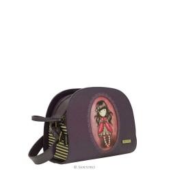 BORSA TRACOLLA embossed shoulder bag LADYBIRD Santoro 526GJ01 Gorjuss BORSETTA