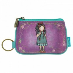 Gorjuss PORTA MONETE CON ZIP zip purse LITTLE SONG 340GJ06 santoro