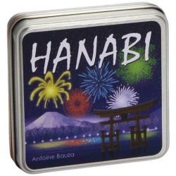 HANABI Oliphante COOPERATIVO età 8+ PARTY GAMES fuochi d'artificio SCATOLA IN LATTA gioco da tavolo
