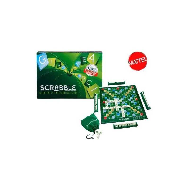 Merge with scrabble board game scrabble letters mattel age for Large letter scrabble game