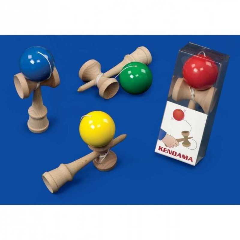 Japanese Toys And Games : Kendama japanese wooden skill toy game dal negro dalnegro