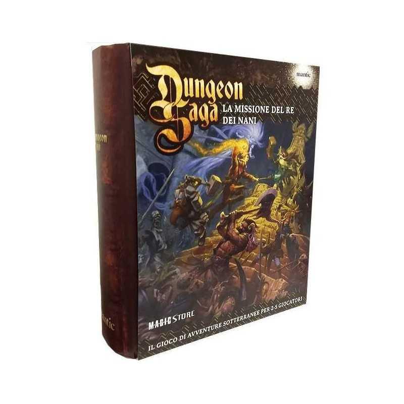 Dungeon saga mantic games gioco da tavolo fantasy italiano la missione del re dei nani et 14 - Dungeon gioco da tavolo ...