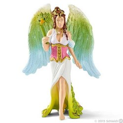 SURAH a piedi CON ABITO DELLA FESTA miniature in resina SCHLEICH personaggi fantasy 70514 BAYALA