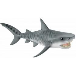 SQUALO TIGRE animali in resina SCHLEICH miniature 14765 Wild Life TIGER SHARK