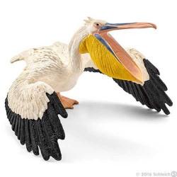 PELLICANO 2016 animali in resina SCHLEICH miniature 14752 Wild Life PELICAN