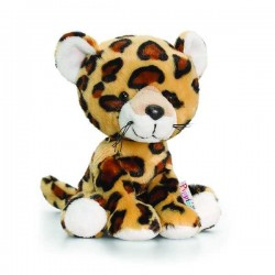 PELUCHE LEOPARDO 14 cm Pippins Keel Toys CLASSICO pupazzo bambola pet