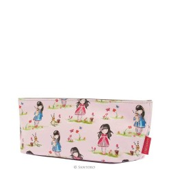 BUSTA MAKE UP astuccio GORJUSS accessory case LADYBIRD fantasia PASTELLO pattern 280GJ12 Santoro