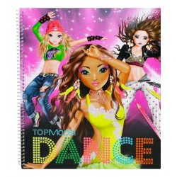 ALBUM DANZA 2016 Creative Studio TOP MODEL adesivi BALLERINE Topmodel DANCE creativo artistico da colorare