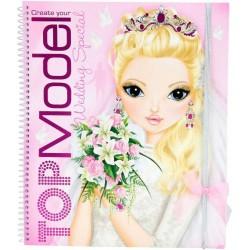 ALBUM CREA IL TUO ABITO DA SPOSA Create your TOP MODEL wedding special MATRIMONIO Topmodel creativo artistico da colorare