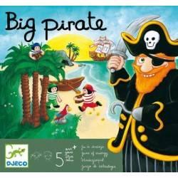 Big Pirate Djeco - gioco da tavolo per famiglie edizione multilingue