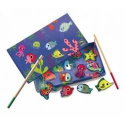 Pesca magnetica colorata - Djeco DJ01653