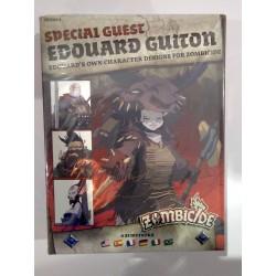 Zombicide Black Plague Survivors EDOUARD GUITON heroes Kickstarter Special Guest