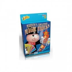 Marvin's Magic AMAZING TRICKS Made Easy 25 TRUCCHI MAGICI magia KIT prestigiatore AZZURRO 1 illusionista 6+