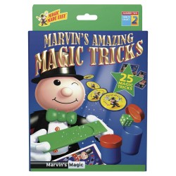 Marvin's Magic AMAZING TRICKS Made Easy 25 TRUCCHI MAGICI magia KIT prestigiatore VERDE 2 illusionista 6+