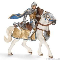CAVALIERE DEL GRIFONE A CAVALLO cavalieri in resina KNIGHTS Schleich 70108 età 3+