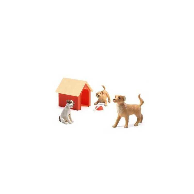Set cani animali da compagnia les chiens casa delle for Animali da casa
