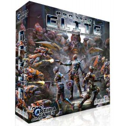 gioco base PROJECT: ELITE + espansione ALIEN PACK miniature COOPERATIVO Artipia Games KICKSTARTER project