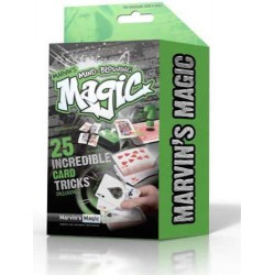 Marvin's Magic MIND-BLOWING TRICKS set kit 25 TRUCCHI MAGICI magia CON LE CARTE verde ILLUSIONISTA età 8+