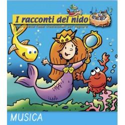 LE MERAVIGLIE DEL MARE audio CD Coccole Sonore racconti del nido 6 fiabe filastrocche narrate