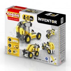 INVENTOR 4 in 1 INDUSTRIAL MODELS Engino KIT costruzioni in plastica GIOCO età 6+