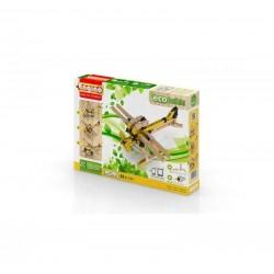 PLANES Eco Builds 3 MODELLI DI AEREO Engino KIT costruzioni in legno e plastica GIOCO età 6+