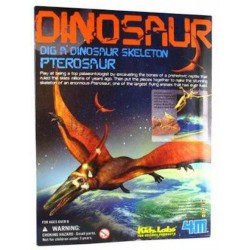 Scava un fossile di PTEROSAURO kit 4M scheletro di dinosauro KIDZ LABS età 8+