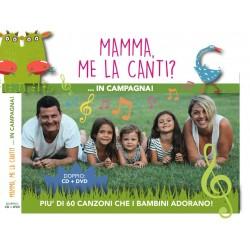 MAMMA ME LA CANTI 2 cofanetto CD+DVD mammamelacanti in campagna 2016 60 canzoni per bambini