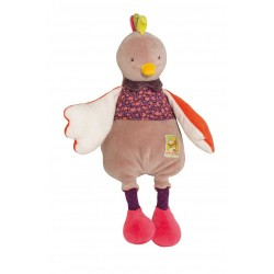 PELUCHE GALLINA morbido LES COUSINS DU MOULIN Moulin Roty 656022 bambola PUPAZZO