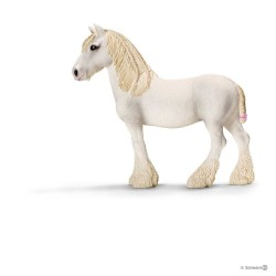 GIUMENTA SHIRE cavalli SCHLEICH miniature in resina FARM LIFE mare 13735 età 3+