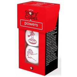 POWERS Mix Poteri RORY'S STORY CUBES gioco 3 DADI espansione RACCONTA STORIE età 6+