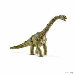BRACHIOSAURO brachiosaurus DINOSAURI Dinosaurs VERDE Schleich 14581 miniature in resina 3+