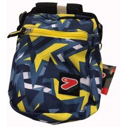SMALL SHOULDER BAG mini tracolla BORSA tracollina SEVEN bicolore GRIGIO GIALLO borsello ACCESSORI