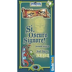 SI, OSCURO SIGNORE! set base verde GIOCHI UNITI seconda edizione IN ITALIANO si signore GIOCO DA TAVOLO età 8+