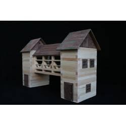 Ponte coperto in legno costruzioni in legno Walachia