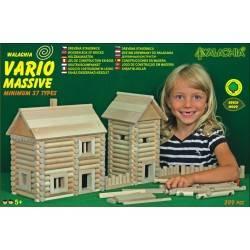 Vario Massive 209 pezzi costruzioni in legno Walachia