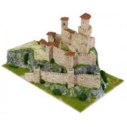 ROCCA GUAITA castello SAN MARINO AEDES ARS 1015 kit di modellismo con mattoni in ceramica 3950 PEZZI