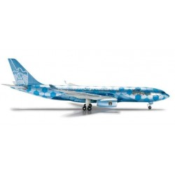 ETIHAD AIRWAYS AIRBUS A330-200 MANCHESTER CITY HERPA WINGS 524094 scala 1:500 model