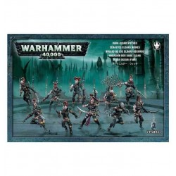 Wyches 10 FURIE miniature Citadel ELDAR OSCURI Warhammer 40000 GAMES WORKSHOP dark 40K età 12+
