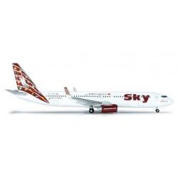 SKY AIRLINES BOEING 737-900 HERPA WINGS 523554 scala 1:500 model
