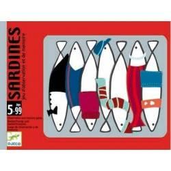 Sardines - giochi di carte Djeco gioco di memoria dj05161
