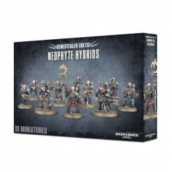 NEOPHYTE HYBRIDS Genestealer Cults GAMES WORKSHOP 10 miniature CITADEL Warhammer 40k 40000 12+