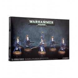 VENDICATORI IMPLACABILI Eldar DIRE AVENGERS 5 miniature CITADEL Warhammer 40000 40k