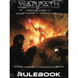 WARPATH FIREFIGHT RULEBOOK MANTIC regolamento gioco di miniature sci-fi in inglese