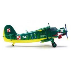 POLISH AIR FORCE ANTONOV PZL AN-2 WIEDENCZYK HERPA WINGS 553694 scala 1:200 model