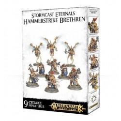STORMCAST ETERNALS HAMMERSTRIKE BRETHREN Warhammer Age of Sigmar Skirmish Team 9 miniatures