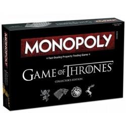 MONOPOLY Game of Thrones CLASSICO gioco CONTRATTAZIONE edizione da collezione HBO in italiano 18+